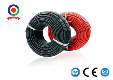 Moistureproof Single Core Wire , Sunlight Resistant 4mm Single Core Cable